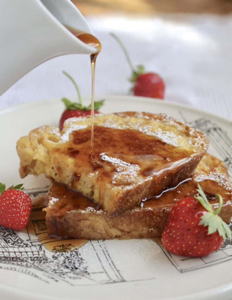 overnight french toast syrup breakfast recipe
