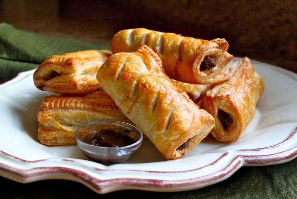 Homemade Scottish Sausage Rolls...Great for a Snack or a ...