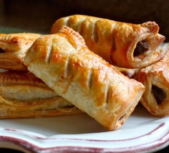 Homemade Scottish Sausage Rolls…Great for a Snack or a Meal