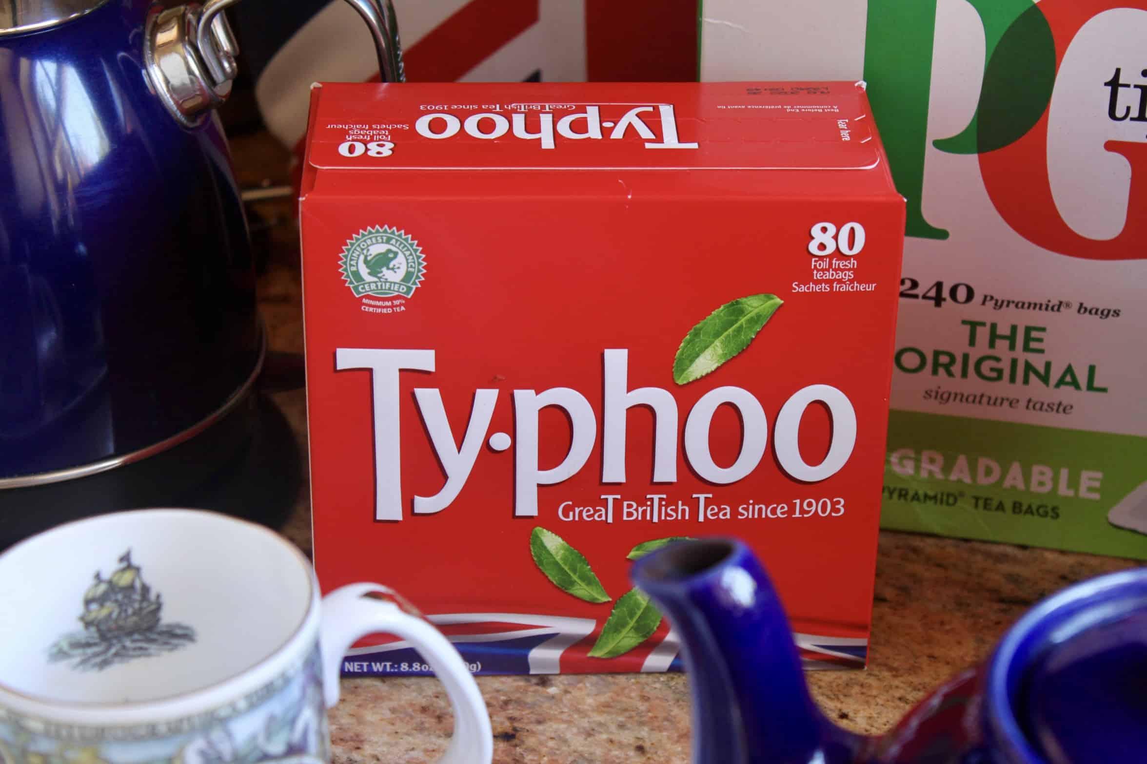 typhoo box of tea