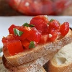 Bruschetta…I'll even tell you how to pronounce it!