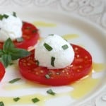 Tomato, Ricotta and Basil Antipasto