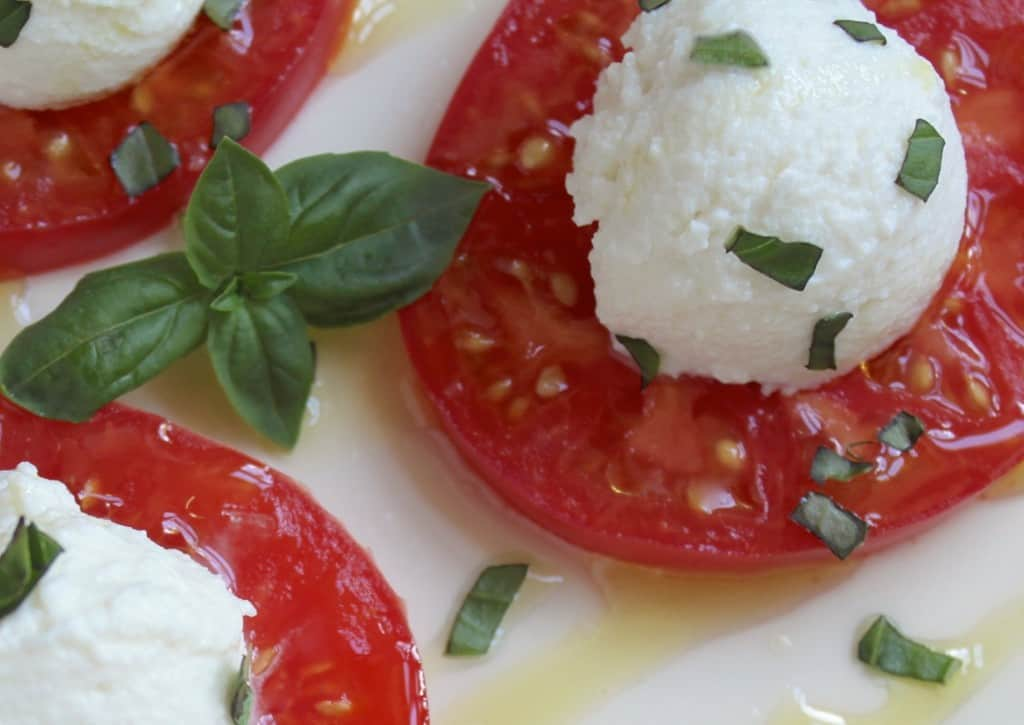 Tomato Basil and Ricotta