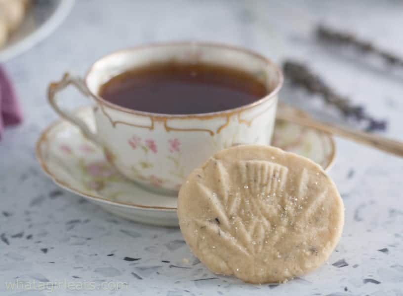 cup of tea and shortbread