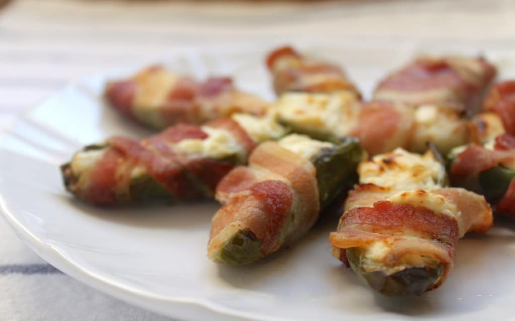 Jalapeño Cream Cheese Bacon Appetizers