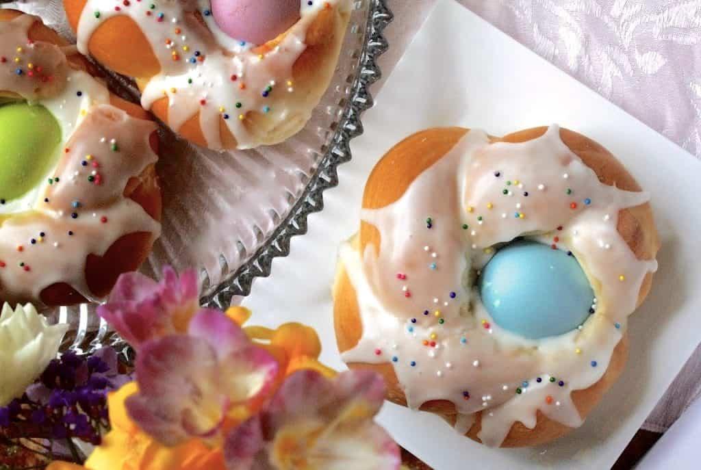 Italian Easter Bread Rings