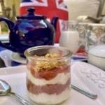 Crunchy Rhubarb Yogurt