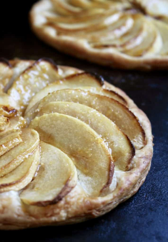 Individual apple galettes recipe