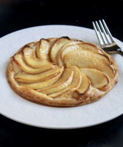 Individual Apple galette recipe