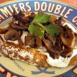 Fresh Mozzarella & Mushroom Toast