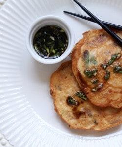 Korean Mung Bean Pancakes (Savory and Delicious!)