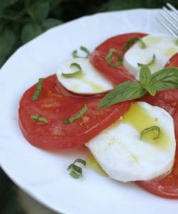 Authentic Caprese Salad