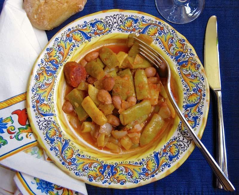 Italian style green beans