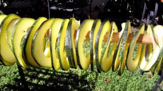 Dried Zucchini (how to make dried zucchini)