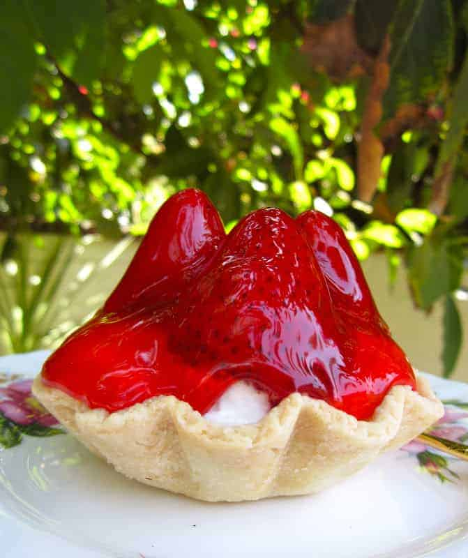 Strawberry Tart, British style