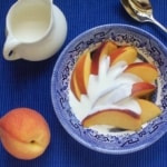 Peaches and Cream (and Cognac!)