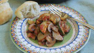 Italian Style Zucchini and Mushrooms
