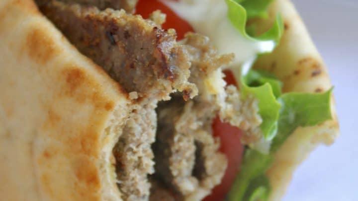 Homemade Gyros with Tzatziki Sauce (Kebabs*)