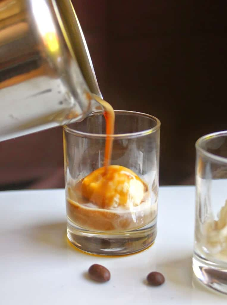 affogato, make affogato, affogatto, caffe, coffee, italian coffee