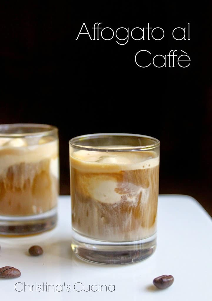 affogato, affogato al caffe, italian coffee, coffee