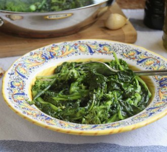 Sautéed Rapini (Broccoli Rabe)