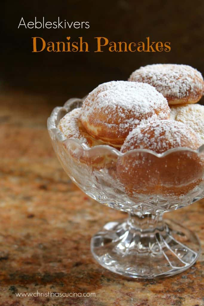 Danish Pancakes Aebleskivers