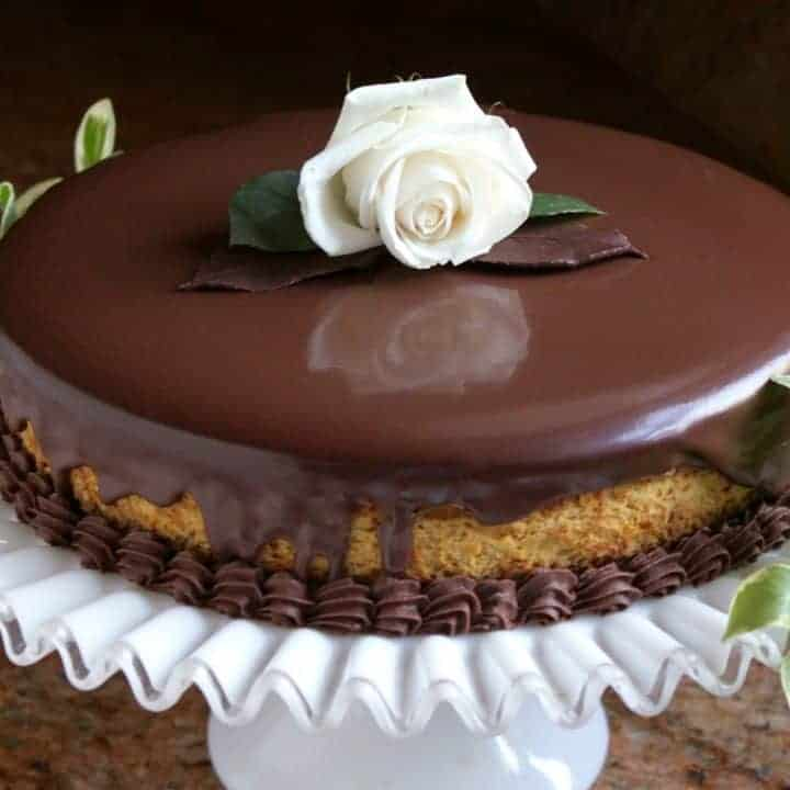 Pumpkin Cheesecake Chocolate Mousse Dessert