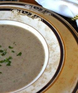 Easy Cream of Mushroom Soup