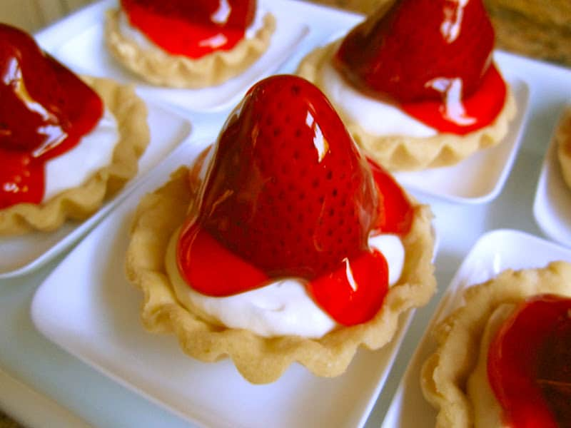 Strawberry Tarts - Christina's Cucina