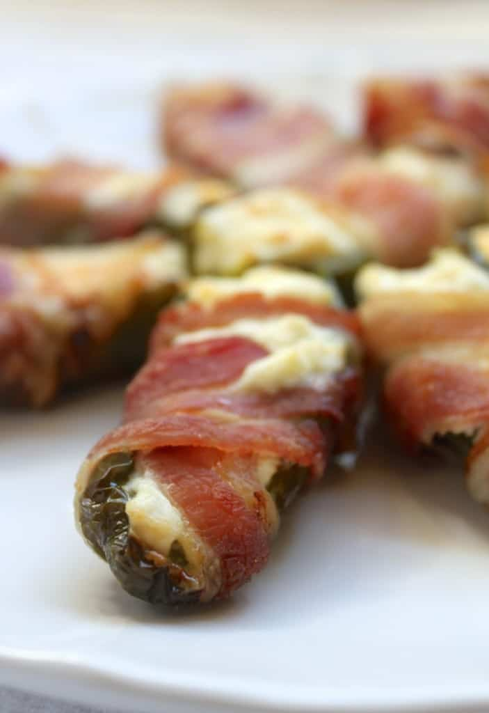 Jalapeño Cream Cheese and Bacon Appetizers
