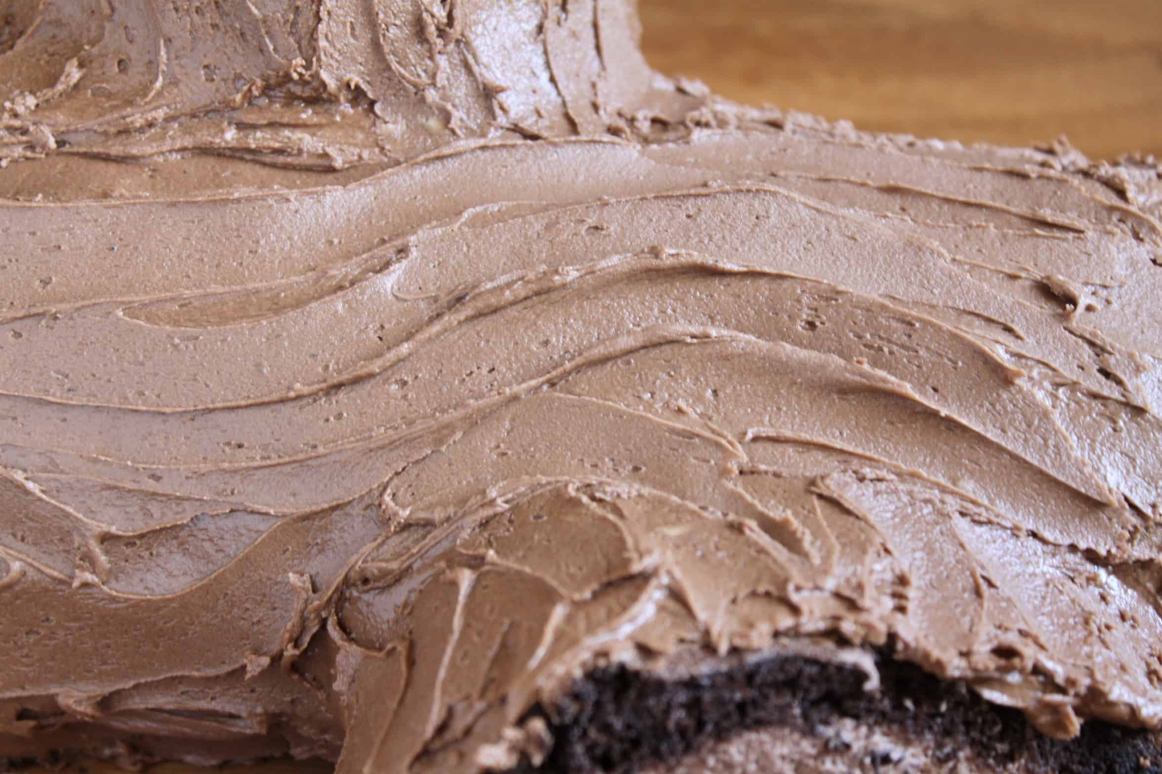 buttercream icing like bark