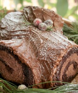 yule log in a tree