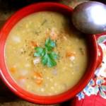 Scottish Red Lentil (and Barley) Soup