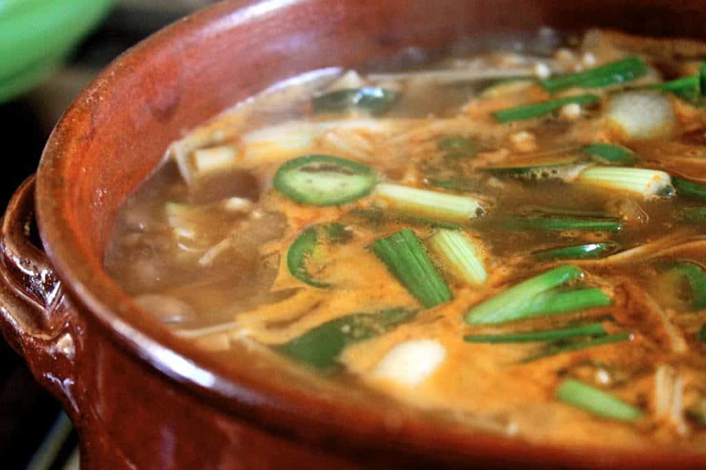 Korean Bean Paste Soup