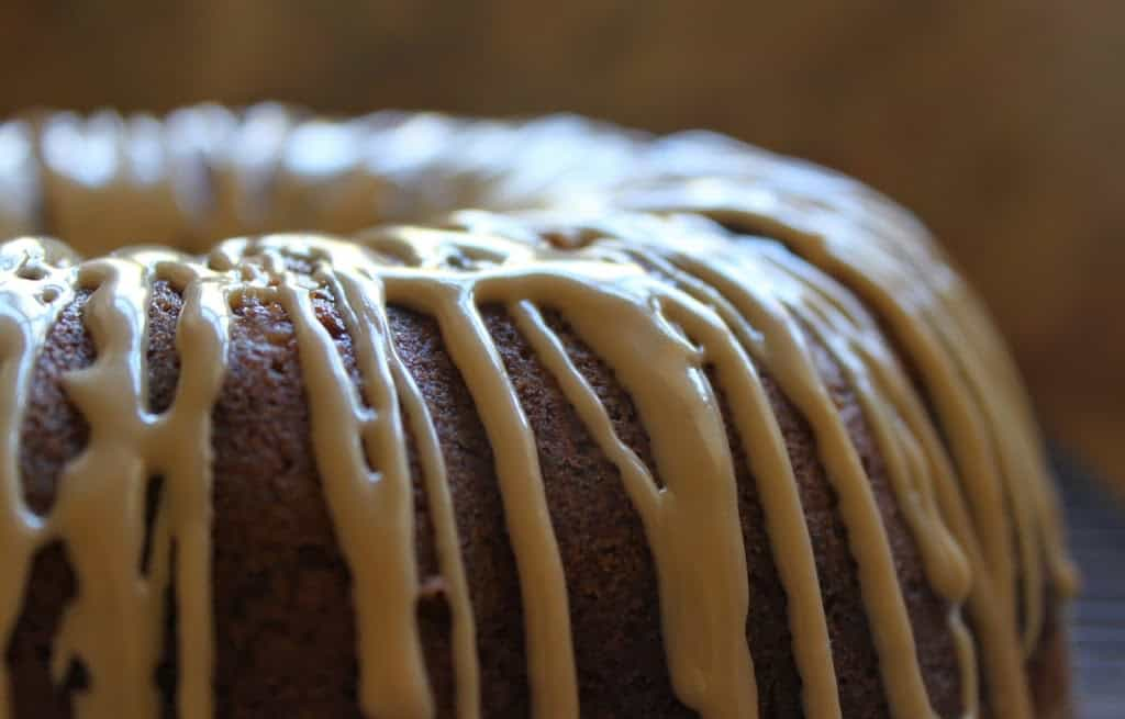 Easy and Impressive Banana Nutella Bundt Cake