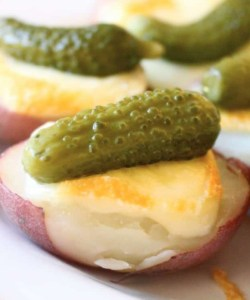 Raclette with Potatoes and Cornichons: A Taste of Switzerland
