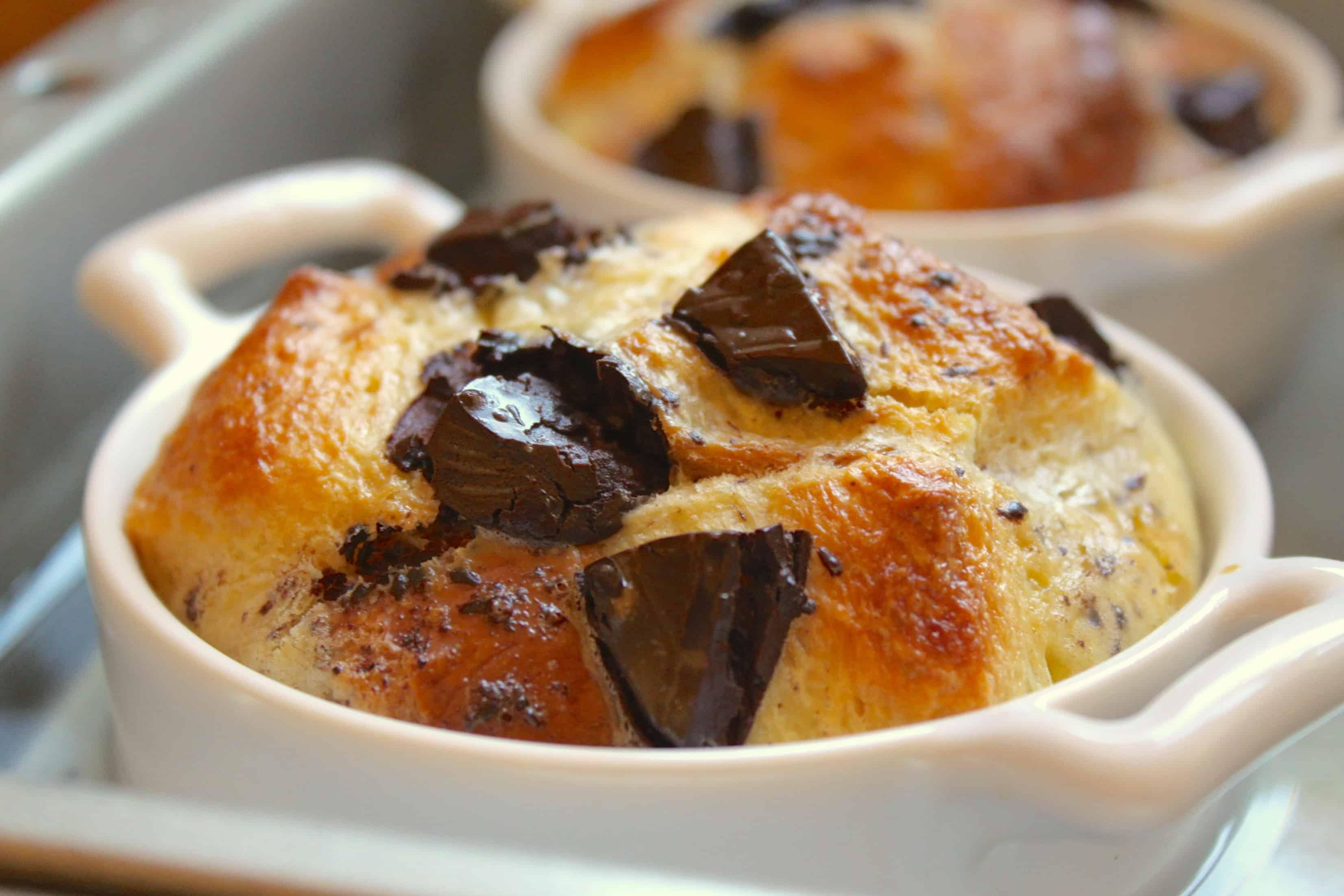 Chocolate Orange Jaffa Cake Bread Pudding