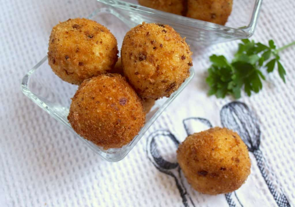 Potato Balls and croquettes