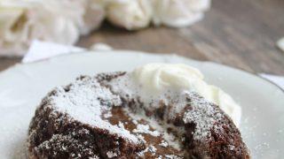 Bittersweet Molten Chocolate Lava Cakes