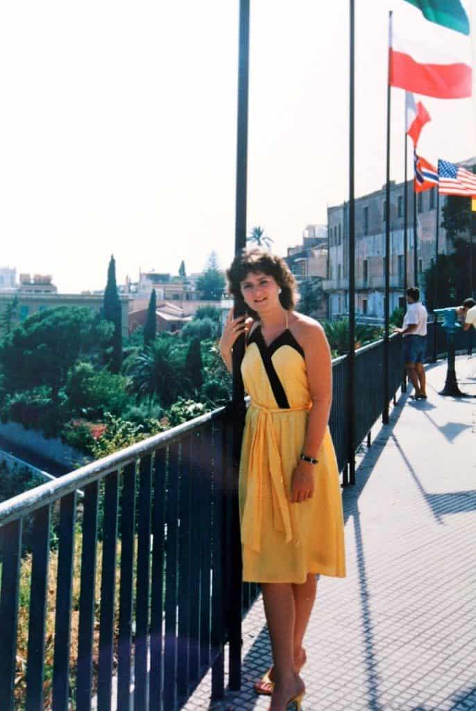 Christina in Sicily