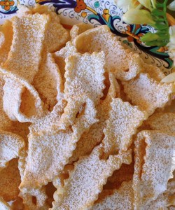 Frappe or Cioffe: Bows and Ribbons of Fried Sweetened Dough