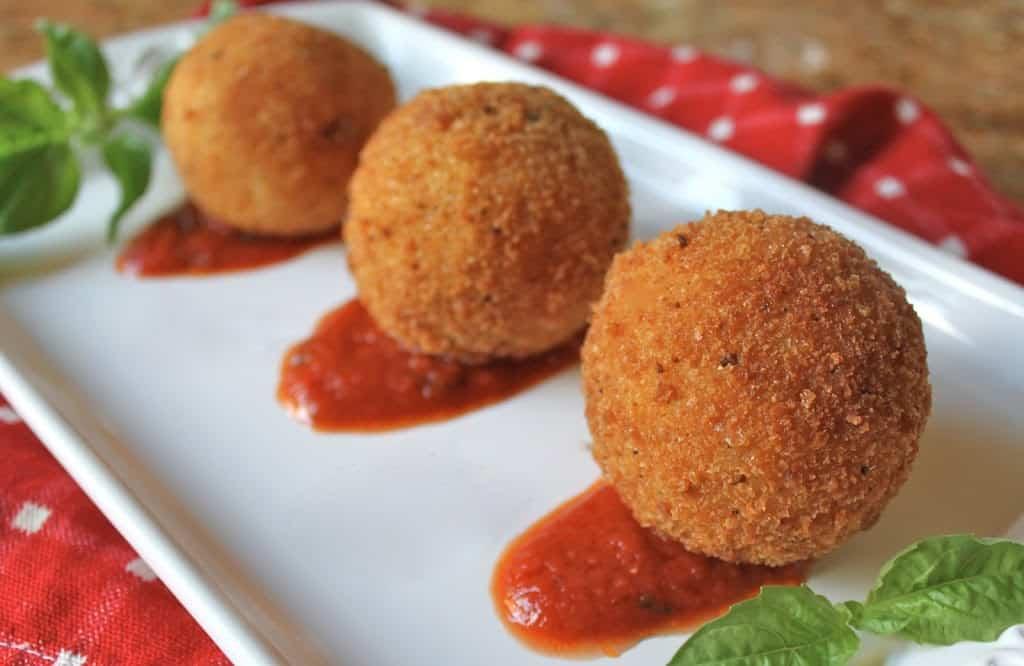 Arancini di Riso: Sicilian Rice Balls - Christina's Cucina