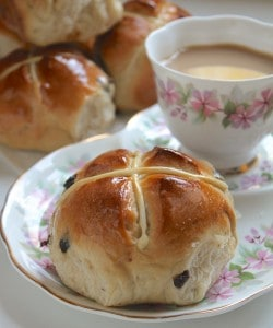 Mrs. Rabbit's Hot Cross Buns Recipe
