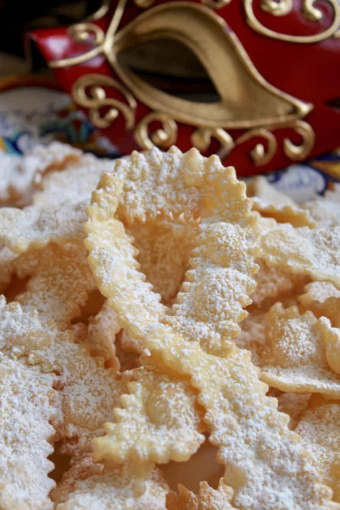 Italian bow tie cookies cioffe