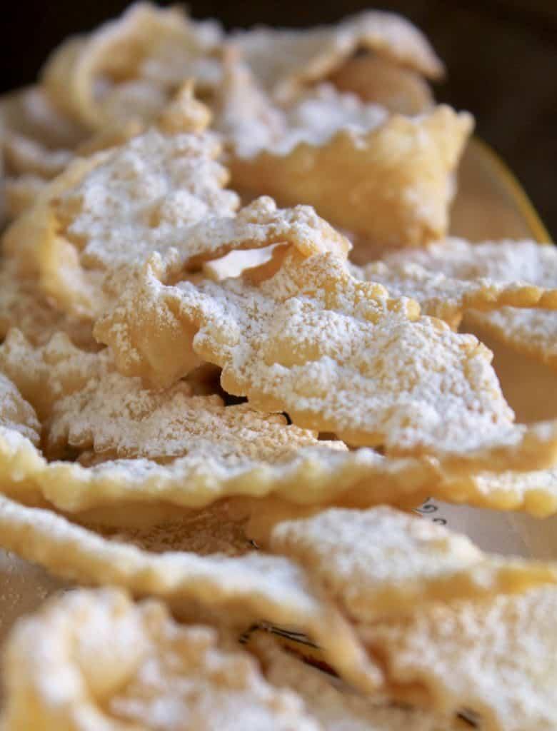cioffe, Italian bow tie cookies