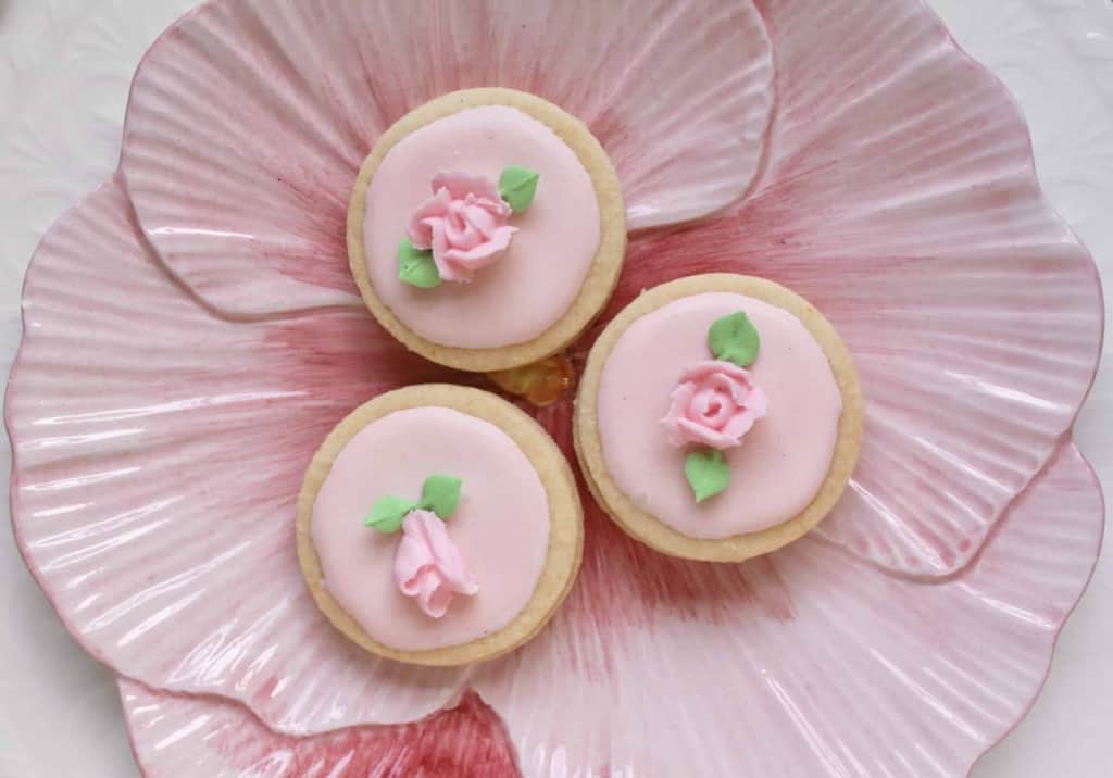 Easter cookies / flower biscuits