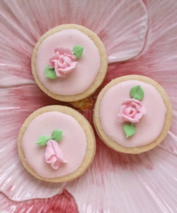 flower Easter cookies / flower biscuits