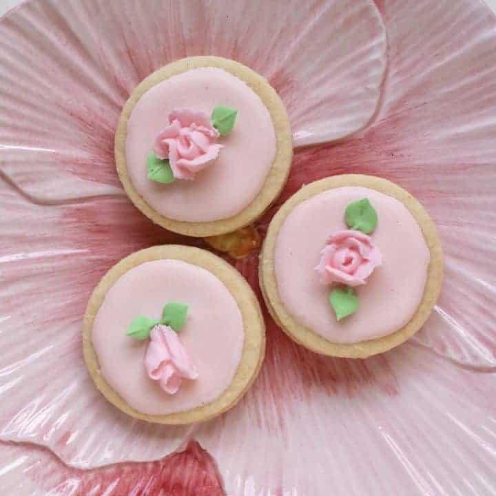 flower Easter cookies / flower biscuits