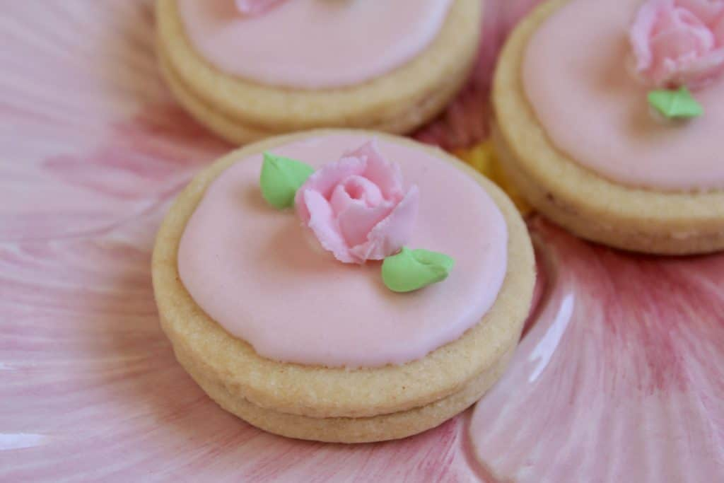 flower Easter cookies