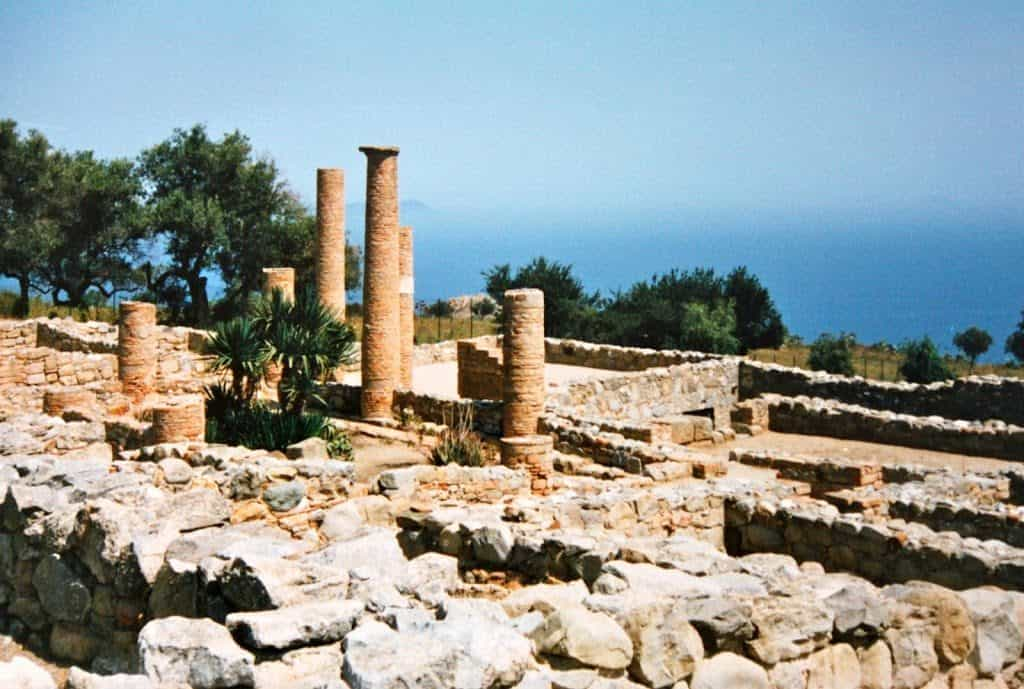 Ruins in Sicily